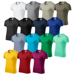 Slim fit V-neck Tričko