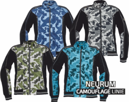 Bunda NEURUM CAMOUFLAGE