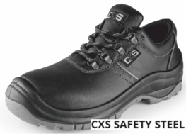 Polobotka CXS SAFETY STEEL VANAD O2