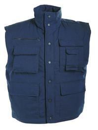 f05d8e900e84 Pracovní vesta zateplená TRITON modrá