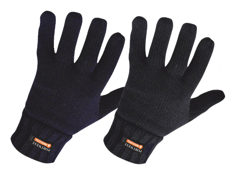 db1271e27fa Pletené rukavice s podšívkou Insulatex PORTWEST