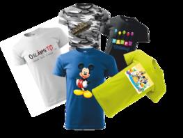 dětské tričko s vlastním OBRÁZKEM faa5928e23