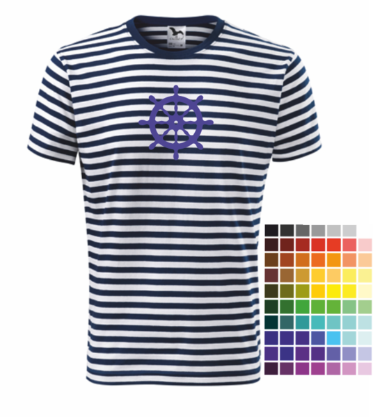4641dec93 Námořnické tričko s KORMIDLEM