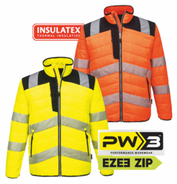 Bunda PORTWEST PW3™ HiVis BAFFLE S - 5XL