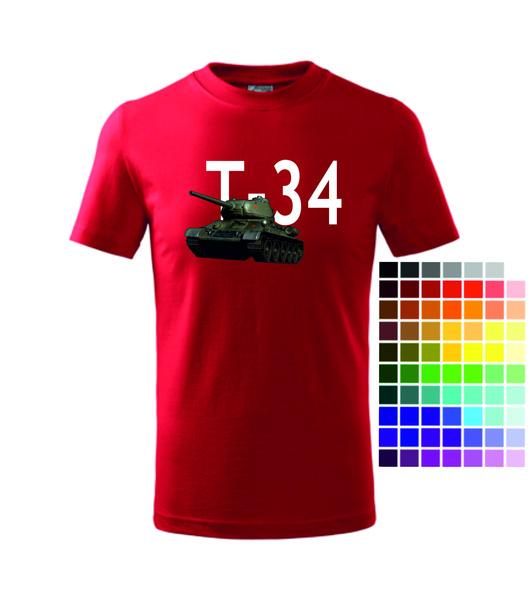 dětské tričko TANK T-34. 250 Kč(303 ... e0b81fddfe